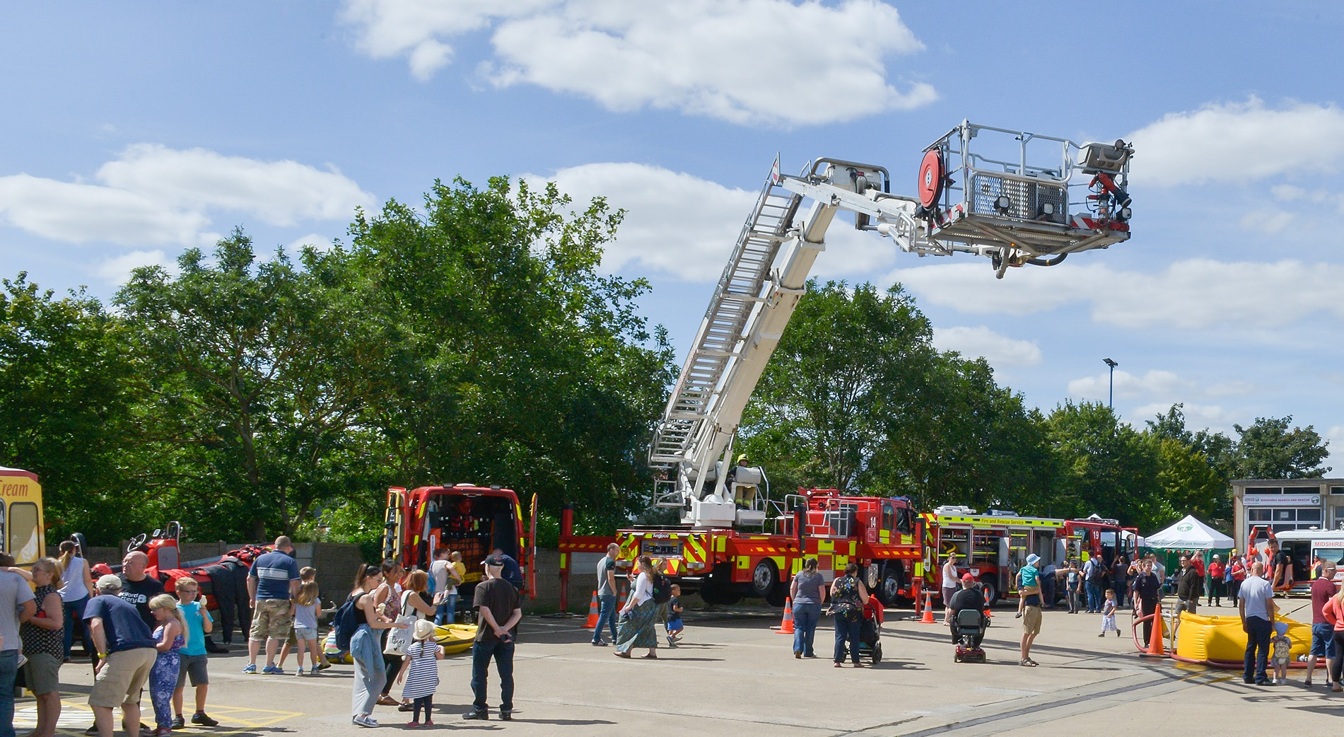 Bedford Community Fire Station Open Day 2017