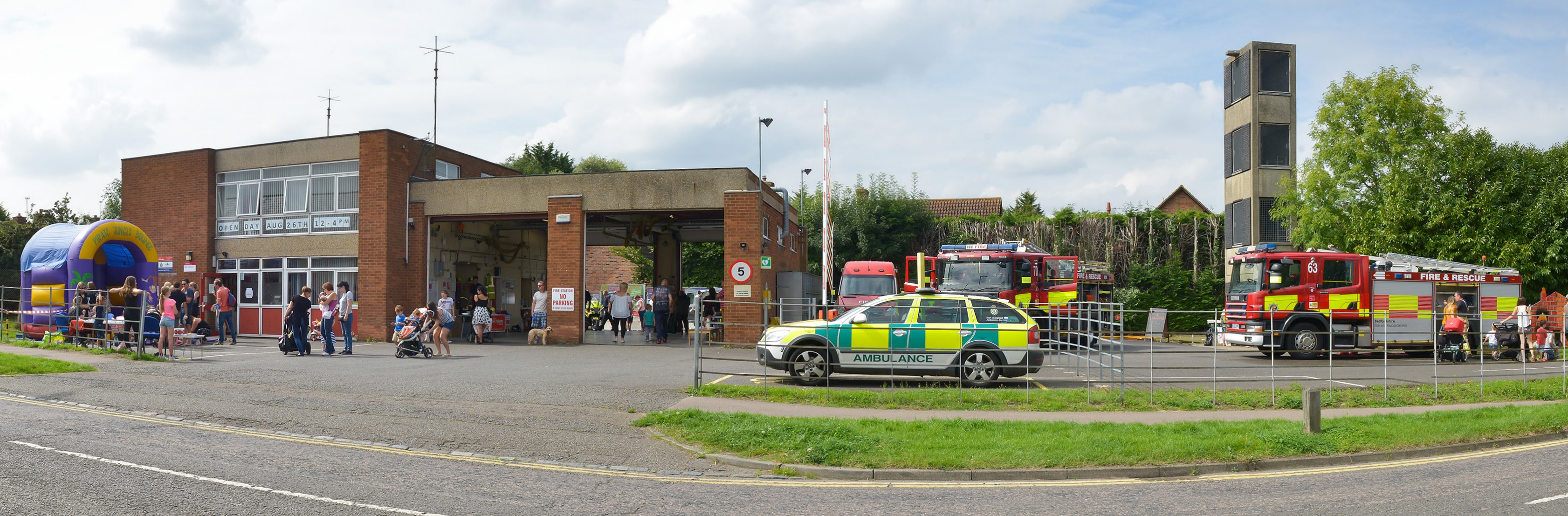 Shefford Community Fire Station Open Day 2017